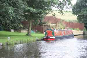 Very neat moorings at Wimsey Wharf