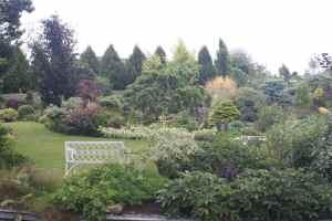 Amazing canalside garden