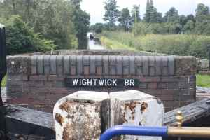 Moving up to the suburb of Wightwick - doesn't look to bad, does it?