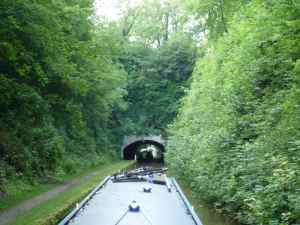 Entrance to the Cowley Tunnel