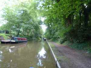 Fine 48-hours moorings at Gnosall
