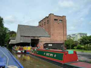 The former Cadbury Wharf with its sheltered accommodation!