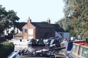 Congestion at Streethay Wharf...