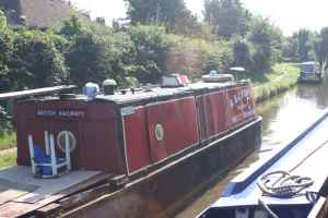 I thought that the railway's contempt of the canals would inhibit them from having a boat, but here we are...