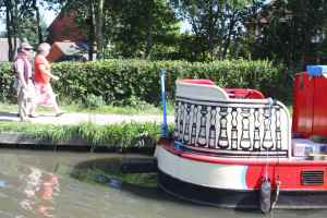 Decorative stern design.....
