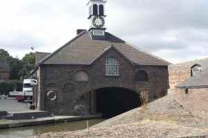 Distinctive clock-tower at BW's Hartshill Yard