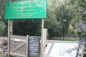The Anchor Inn - dog-friendly and good carvery.....