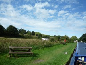 And the view down towards the Iron Lock and the Lock Cafe