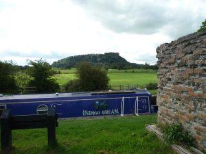 Beeston Castle dominates the landscape for miles