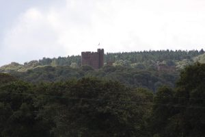 And another Castle - this time in the valley below Beeston Castle
