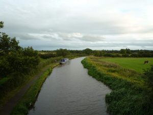 Our overnight mooring by Bridge 38