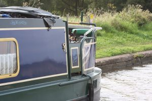 And another variant of the dog-proof deck - it's the future for narrowboat design!