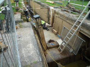 Lock maintenance - it's a big job