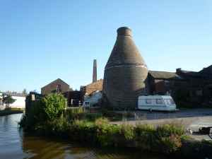 The first of many bottle kilns - Middleport Potteries