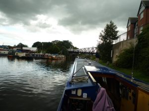 Our mooring in Northwich