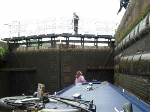 Inside Hunts Lock