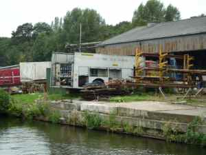 Having ones own fire engine is obviously key boatyard equipment?