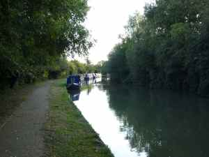 Fine moorings by Bridge 69 - secure and quiet