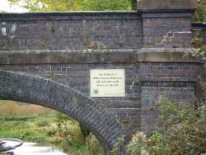 Bridge 83 - site of the ambitious new Bedford and Milton Keynes Canal - wouldn't that be a great achievement...