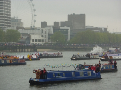 June: The Queen's Diamond Jubilee Pageant - a great event, even if it did rain unpleasantly and incessantly the whole day! Of cours,e the real highlight was wining a Herbie Award for the rehearsal the week before :-)