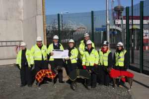 February: Success - Richard's fundraising efforts raised £2,000 for Greyhoundhomer!