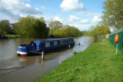 """May: Stranded in Wallingford - the water came up another 10"""" but Indigo Dream was fine!"""