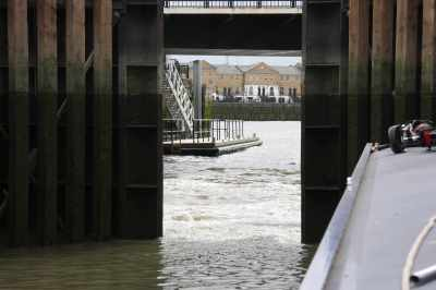 April; The start of the Spring Odyssey - up the Thames...