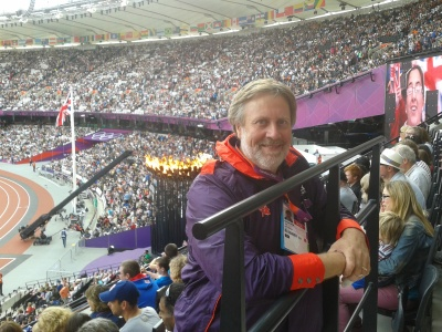 August: Richard's amazing experience as an Olympic Gamesmaker - we may have to take a slow boat to Rio :-)