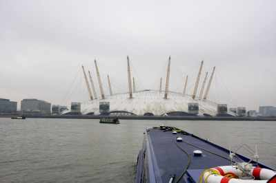 """The """"Oh my"""" moment as you see the expanse of the tidal Thames in front of you"""