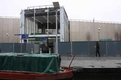 Portal to Paddington Station from the basin - handy!