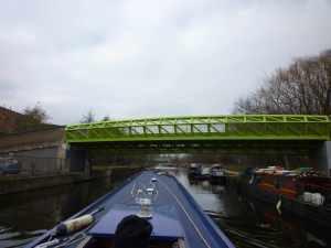 That's a very green bridge!