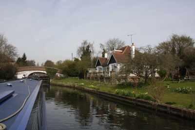 The wonderful cottage below Black Jack's lock...