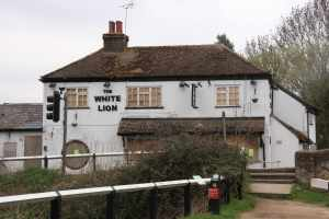 Sad to see the White Lion boarded up - I never rated it under its old management but it would be good to see it reopened....