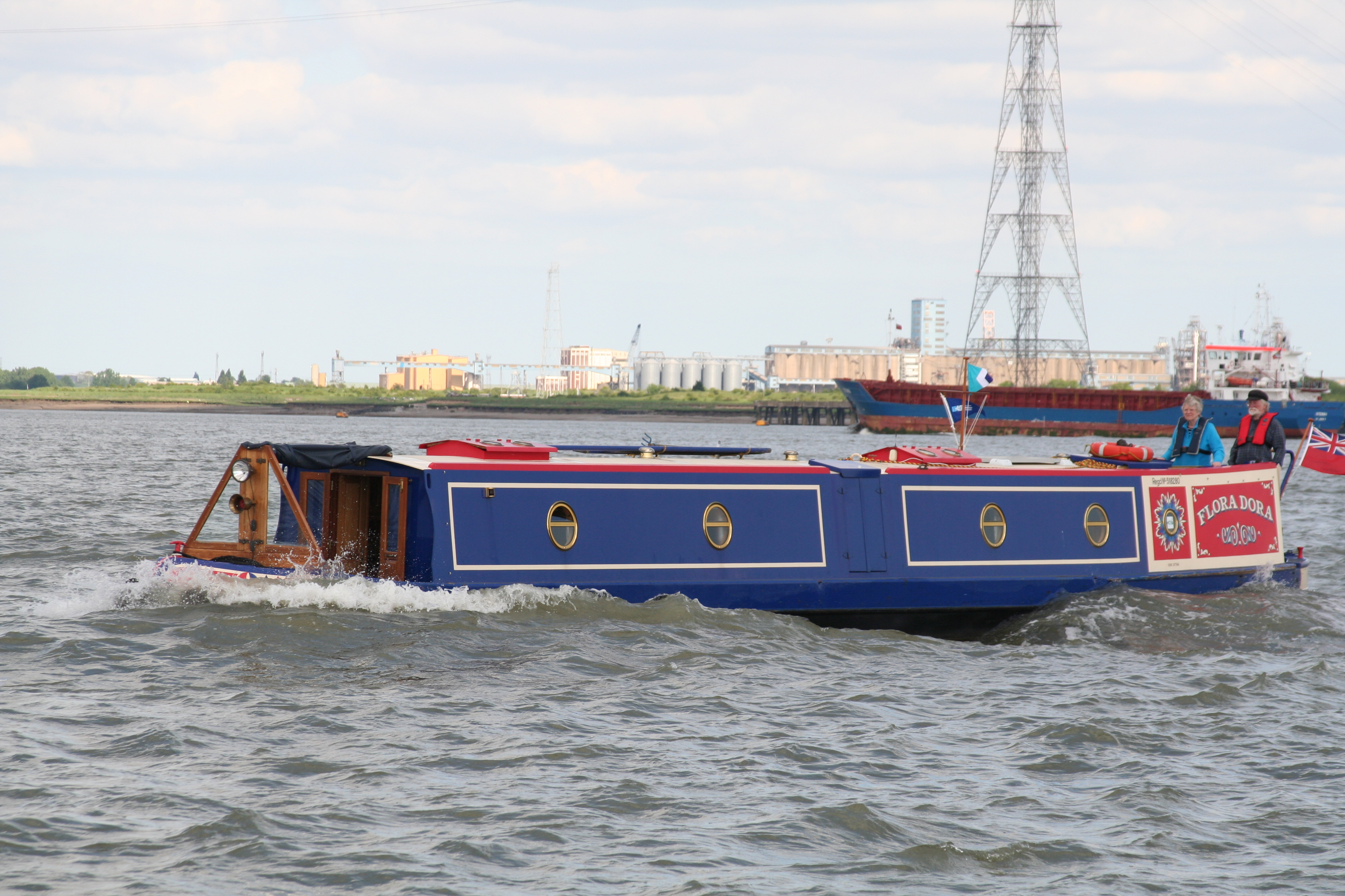 Boat Blog: Rewind: Gravesend Adventure – safely back to ...
