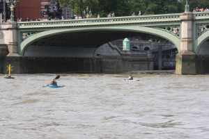 We sometimes think that we're a bit small on the tideway but these guys are almost invisible!