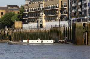 nb Daedalus looking mighty fine coming onto the river..