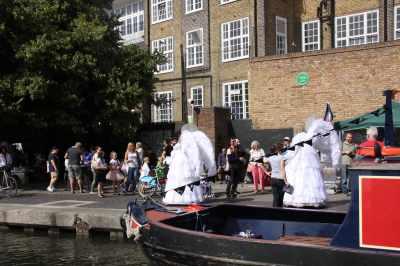 The Angels of the canal festival :-)