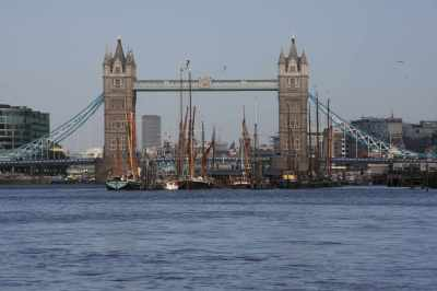 You'd almost think we'd gone back in time with the masts and the bridge...