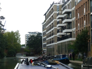 Development keeps happening on the Regents Canal