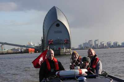 Need a reason to smile - come on a convoy cruise along the tideway :-)