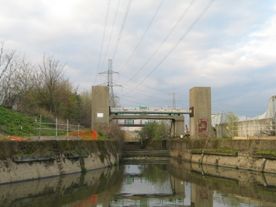 Flashback to 2008: Carpenters Road Lock as was