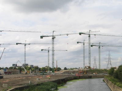 Flashback to 2008 - Stadium being built
