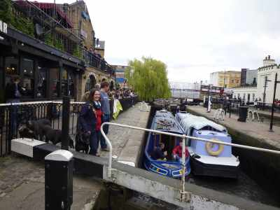 Camden Lock is Archie's place - even Ols and Henry managed a little tarting thoug Henry would rather blag fast food than fuss :-D