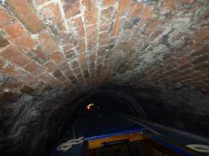 Gosty Hill tunnel is a tight squeeze at either end..