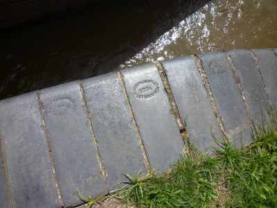 Love these embossed bricks - were they really made in 1894?