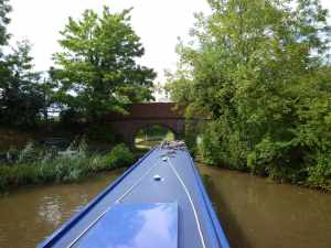 New territory - entering the Droitwich Canal (or the junction canal to be precise)..