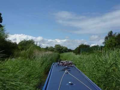 Narrow locks - narrow canal!