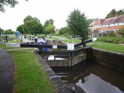 Broad locks and swingbridges - now we're in Droitwich :-)