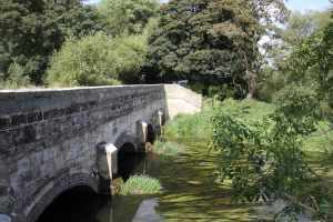 The aqueduct over the River Sow - such a wonderful stopping place...