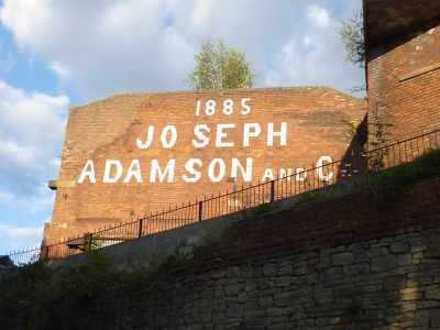 Who was Joseph Adamson? A member of the Institute of Mechanical Engineers and part of an engineering dynast by the sounds of it - http://www.gracesguide.co.uk/Joseph_Adamson